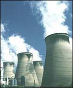 power station towers
