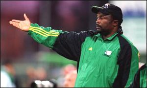 South African coach Jomo Sono