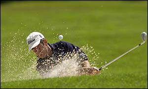 Ryder Cup Captain Torrance digs out of the bunker as he seeks to become the oldest  European tour winner