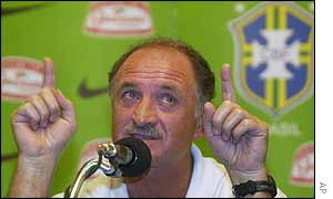 Luiz Felipe Scolari is tipping the other big nations to qualify for the second phase