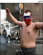 Moscow rioter
