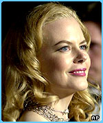 Nicole Kidman shared the UK Christmas number one spot in 2001