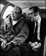 Alan Whicker and Leonard Matchan