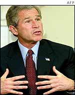 President Bush comments on 'dirty bomb plot'