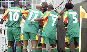 Celebration time for Senegal as they clinch a place in the last 16