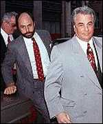 Gotti with his attorney