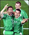 Robbie Keane fires the Republic of Ireland into the last 16