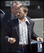 Ringo Starr arrives at Belfast Airport