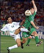 Gary Breen scored Ireland's second