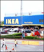 Ikea's store at Brent