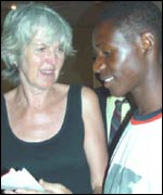 Hillary Ravenscroft and Abu Bangura