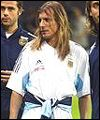 Claudio Caniggia had an unhappy World Cup