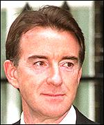 Former minister and spin doctor Peter Mandelson