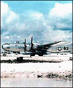 Enola Gay (Picture: Federation of American Scientists)