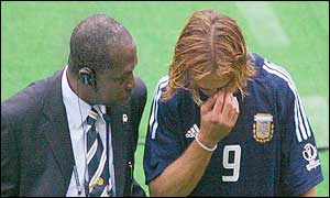 Batistuta said Argentina should have qualified without any problems