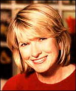 Home lifestyle guru Martha Stewart