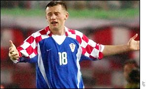 Croatian forward Ivica Olic