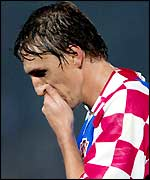 Croatia's Alen Boksic rues a missed opportunity