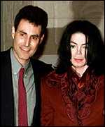 Michael Jackson and Uri Geller