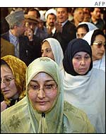 Afghan women delegates to the loya jirga