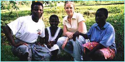 Becky meets some more children who have been rescued from a life working as domestic servants