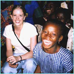 Becky went to see some of the children rescued from slavery in Africa