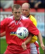 Roddy Grant in action for Brechin