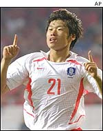 Korea's Ji-Sung helped send the USA through