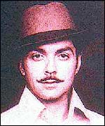An earlier portrayal of Bhagat Singh