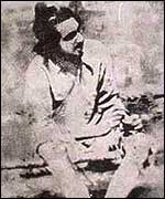 Bhagat Singh as he was represented in one of the earliest films