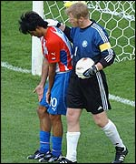 Oliver Kahn was celebrating his 33rd birthday