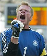 Germany goalkeeper Oliver Kahn