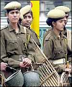 Indian women police