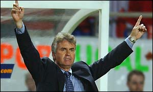 South Korea coach Guus Hiddink