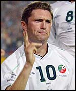 Ireland striker Robbie Keane
