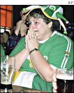 An Irish supporter