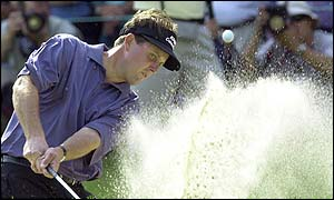Mickelson was second in the US Open for the second time
