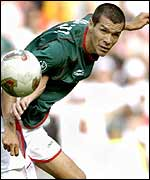 Mexico striker Jared Borgetti