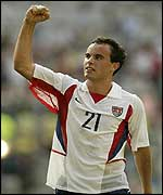 Landon Donovan has scored twice in this World Cup