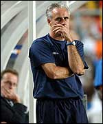 Irish coach Mick McCarthy