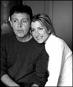 Sir Paul McCartney and Heather Mills official engagement picture
