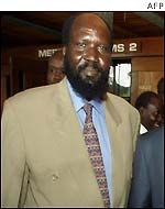 SPLA Number two Commander Salvar Kiir