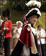 Procession of the Garter at Windsor Castle