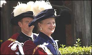 Queen Margrethe, of Denmark