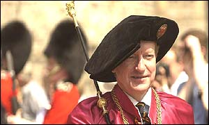 Black Rod, Sir Michael Willcocks