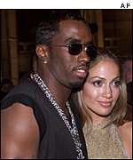 P Diddy and Jennifer Lopez