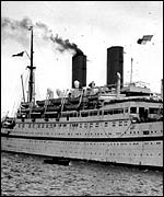 Empire Windrush, which brought first West Indians to UK