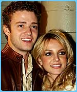 Justin and Britney in happier times