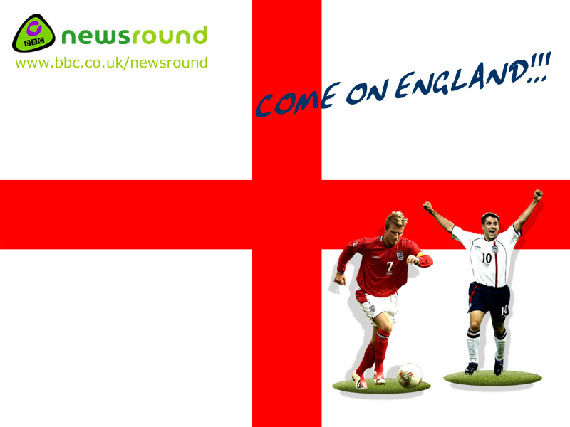 CBBC Newsround | SPORT | Print your own England flag