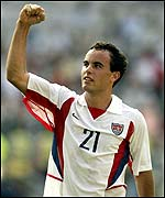 United States striker Landon Donovan
